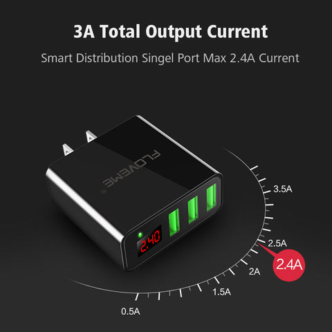 PowerPort Pro - 3 Port USB Fast Charging Technology with LED Display