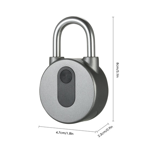 Smart Padlock Pro - Smart Keyless Fingerprint Lock with APP Button