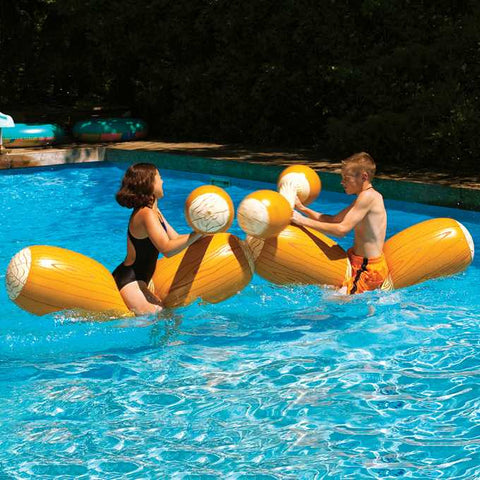 2 Sets Inflatable Joust Swimming Pool Float Game