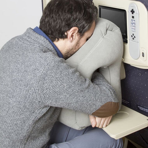 Inflatable Travel Pillow - Most Comfortable & Innovative Pillow for Traveling Airplane