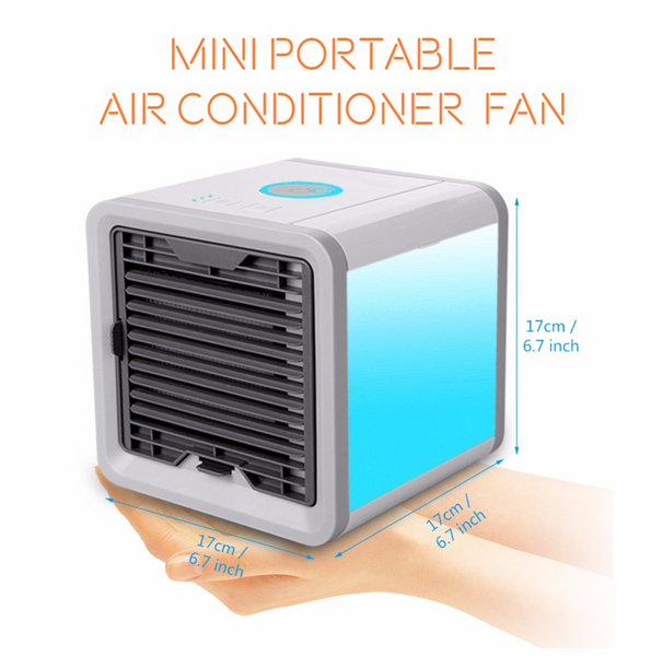 CoolAir: Portable Personal Cooler Fan