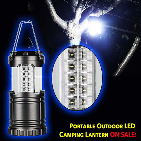 UltraBright Portable Outdoor LED Camping Lantern