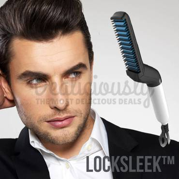LockSleek™ - Quick Hair Styler For Men