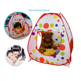 Kids Tent Pipeline Game Play House - 3 In 1 Crawling Huge Game House