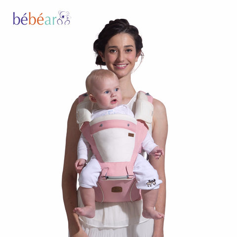New Born Baby hipseat prevent o-type legs 6 in 1 carry style - Ergonomic baby carriers