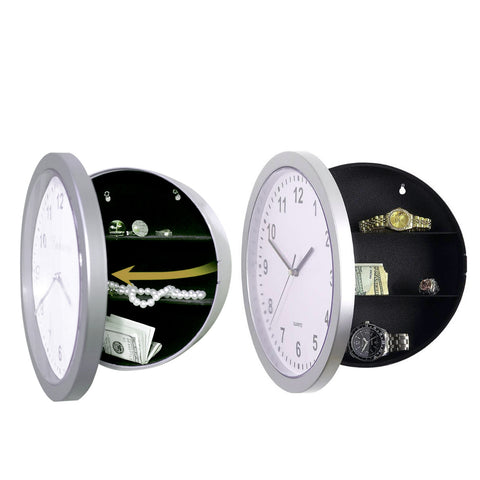 Wall Clock Security Lock Box