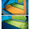 Image of Self-Inflating Camping Sleeping Pad with Attached Inflatable Pillow
