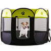 Image of Portable Folding Pet tent Dog House - Dog Cat Tent Playpen Puppy Kennel