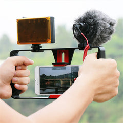 Smartphone Filmmaking Video Rig With Cold Shoe Mount