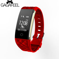 Waterproof Bluetooth Fitness Tracker Bracelet Smart Wrist Watch Band for iPhone Android