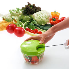 All-in-One Magic Chopper - Compact and Powerful Manual Food Chopper