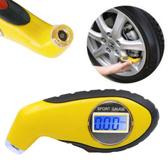 Diagnostic Tools: Tire pressure gauge Meter