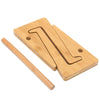 Image of Detachable Wooden Laptop Desk Laptop Stand For Macbook Tablet PC Notebook