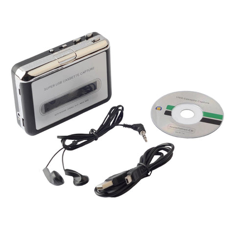 Cassette Tape to USB - Cassette to MP3 Converter to Keep Your Old Memories Safe
