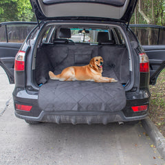 Waterproof Cargo Liner for Dog - Safety Hammock Pet Car Back Seat Cover