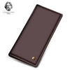 Image of Laorentou Long Style Men Soft Leather Wallet With Card Slot For Business Men