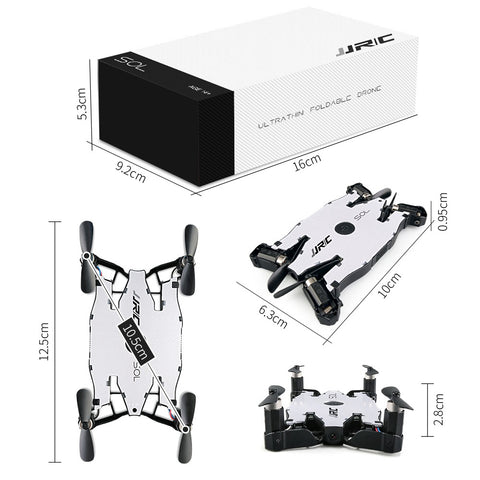 SOL Pocket Drone with 720p HD Camera,Dual Remote Control Mode