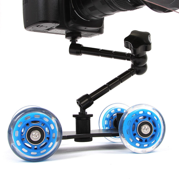 Cam Slider Pro - Rolling Slider Dolly Car