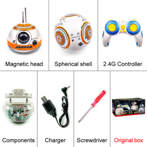 Star Wars BB 8 Remote Control Droid Robot Sound Intelligent Toy