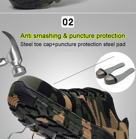 "Indestructible Military ""Battlefield Shoes"""