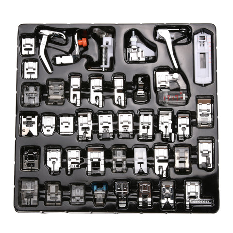 iSewing Pro - AIO 42 Pieces Sewing Machine Presser Feet Set