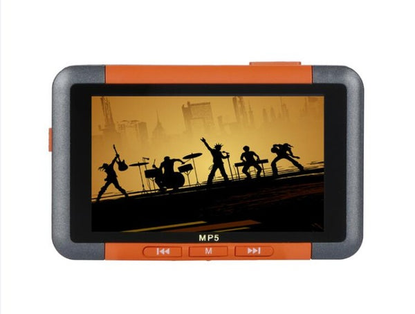 Slim LCD Screen MP5 Player Music Video Player FM Radio Recorder E-book