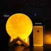 Image of MoonLight Pro-Modern Home 3D Printing Lamp