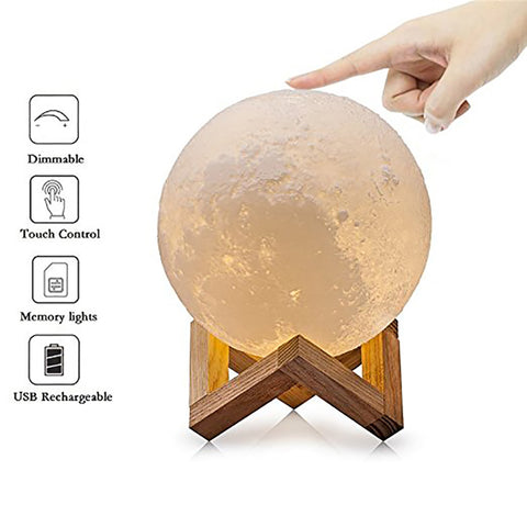 MoonLight Pro-Modern Home 3D Printing Lamp