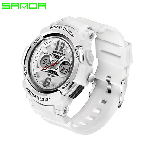 Women Sports  Fashion Waterproof Watches-LED Multifunction Digital Wristwatches