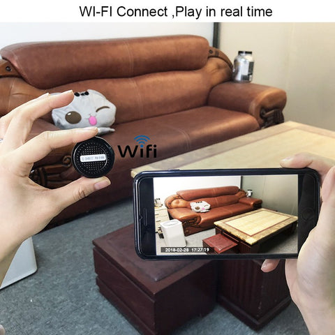 Smart Mini Camera - Mini Wifi Camera with Motion Sensor