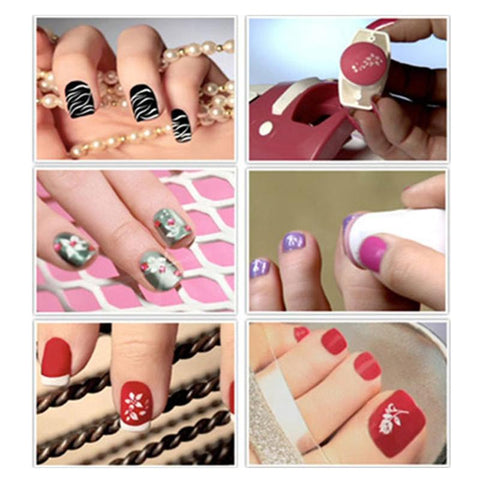 Nail Printing Kit - Nail Art DIY Color Printing Machine