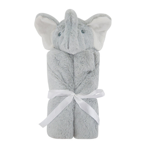 Super Soft Animal Head Blanket for Newborn Baby