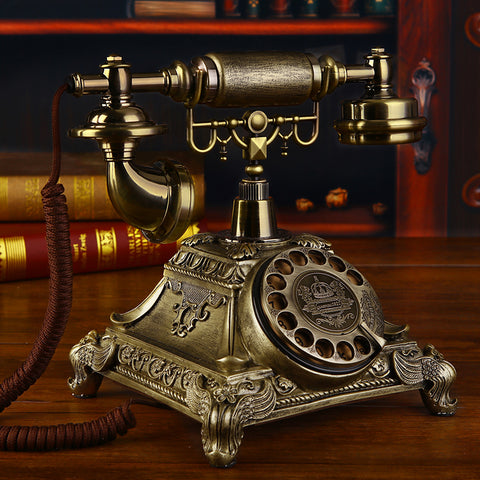 Vintage STYLE ROTARY Retro Dial Home and office Telephone