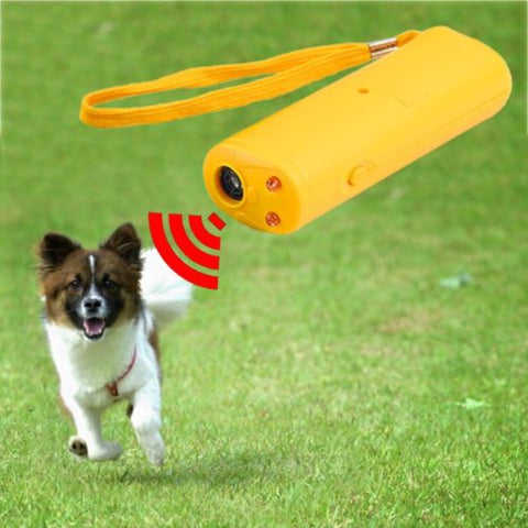 Handheld Bark Control Device