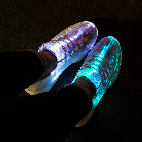 Glowing Light Sneakers