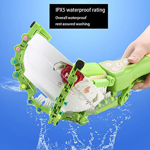 Handheld Automatic Dish Scrubber