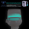 Image of Motion Activated LED Toilet Nightlight