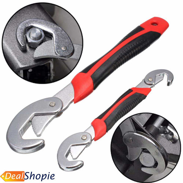 Multifunctional Universal Wrench Set Which Fits All Sizes of Bolts