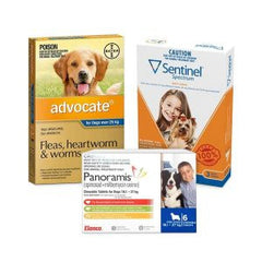 Dog Flea, tick & worming