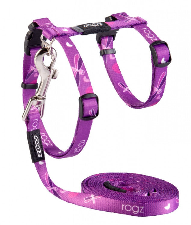 Rogz Harness And Lead Kiddycat Dragon