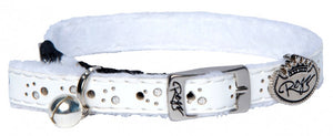 Rogz Collar Pin Buckle Trendycat White