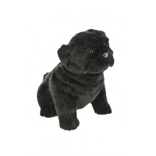 Bocchetta Oreo Black Pug Plush Toy