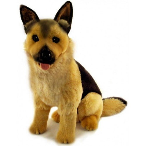 Bocchetta Major German Shepherd Sitting Plush Toy