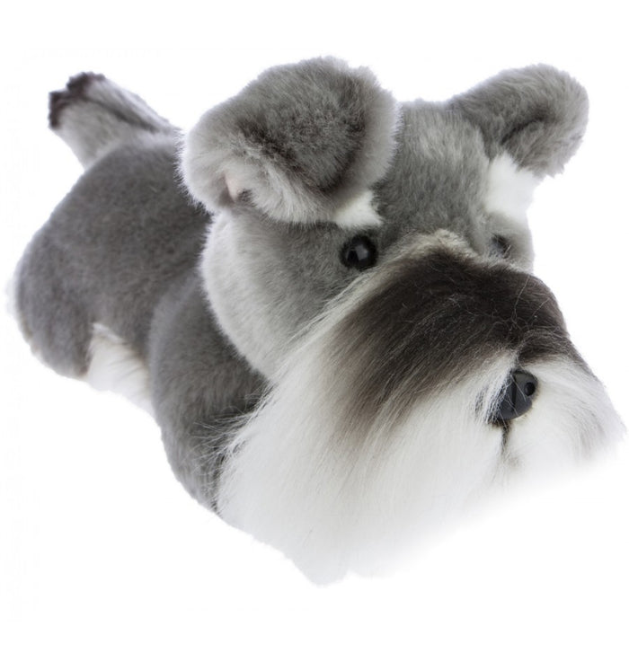 Bocchetta Scoobie Schnauzer Lying Plush Toy