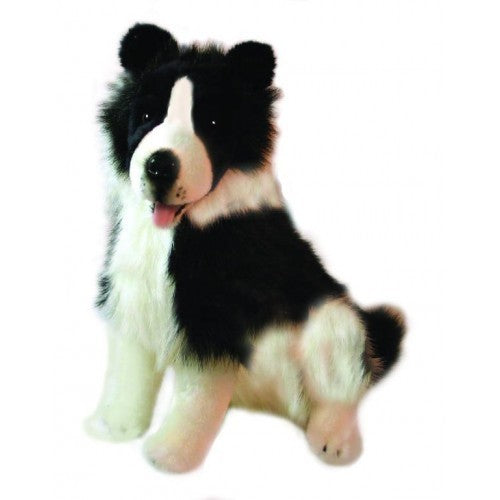 Bocchetta Tommy Border Collie Sitting Plush Toy