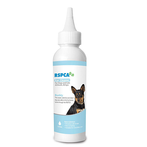 RSPCA Ear Cleaner For Dogs 125Ml