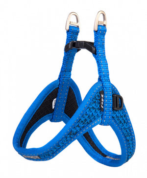 Rogz Fast Fit Harness Blue