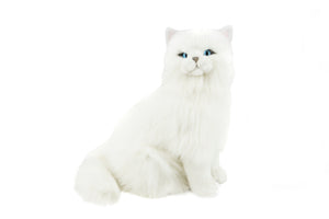 Bocchetta Pearl Persian Cat Sitting Plush Toy