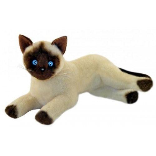 Bocchetta Blossum Siamese Cat Lying Plush Toy