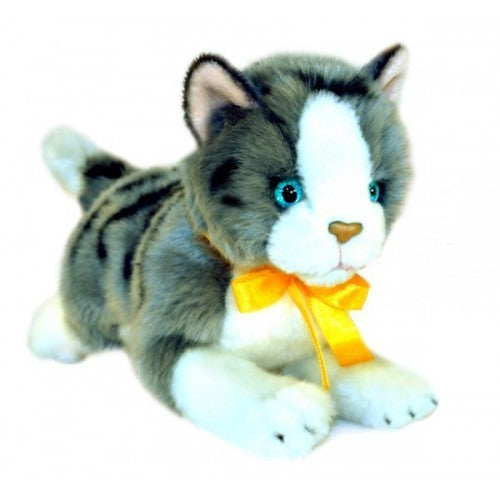 Bocchetta Leila Norwegian Grey & White Cat Plush Toy